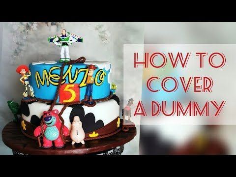 The basics - YouTube How to couver a dummy with fondant. #themecakes #cakedecorating #caketutorial #cakedecoratingvideos #cakedesign #youtube