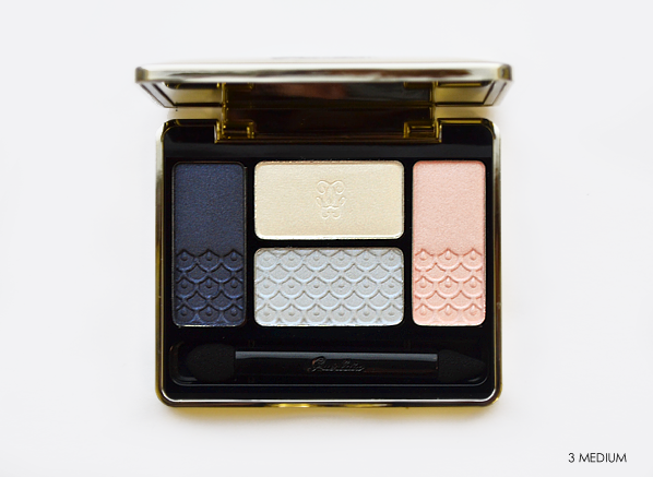 Guerlain Ecrin 5 Couleurs in 18 Les Nuees -  Les Tendres Makeup Look for Spring 2015 #SS15