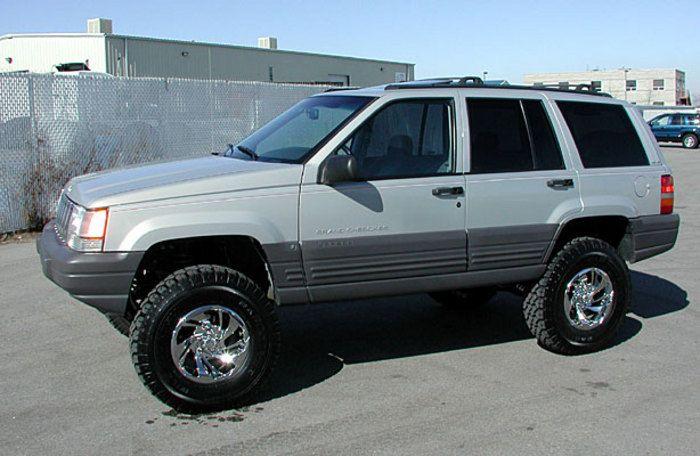 1992 1998 Jeep Grand Cherokee 3 5 Lift Kit Ez Ride By Tuff Country Jeep Grand Cherokee Jeep Zj Jeep