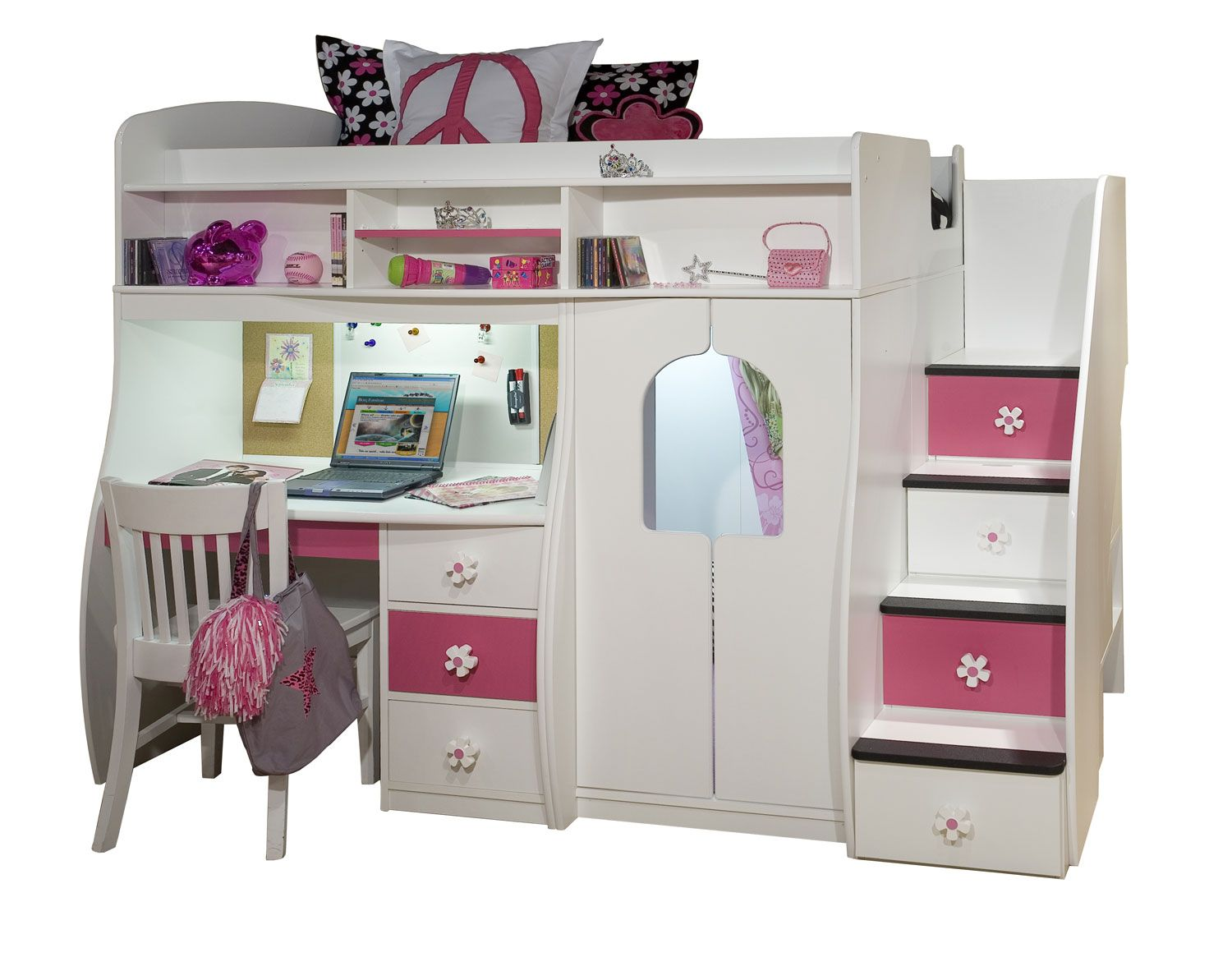 Cool Bunk Beds For S Furniture Collection Berg Kids Captains Lofts