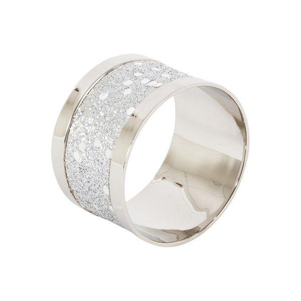 4 Piece Napkin Ring Set #napkinrings