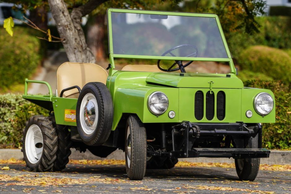 No Reserve 1949 Crosley FarmORoad Transfer case, Mini