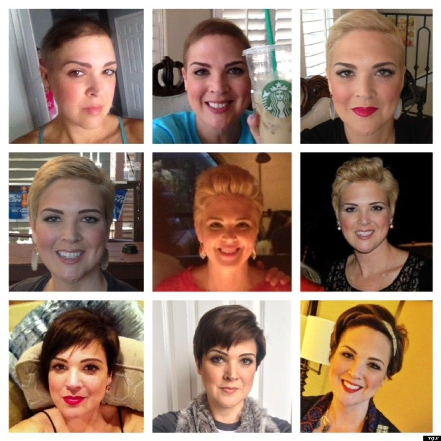 pixie cut growing out stages wwwimgkidcom the image