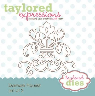 Taylored Expressions - Die - Damask Flourishes,$13.95