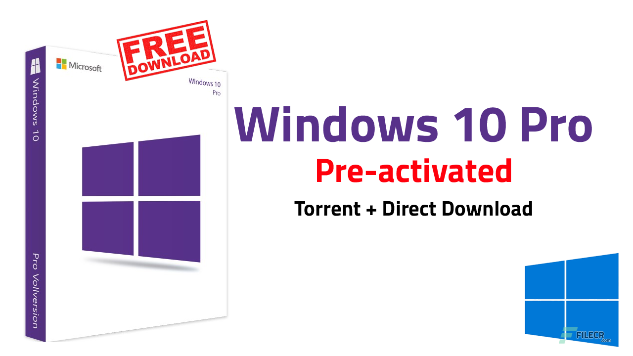 Windows 10 Pro v1903 10.0.18362.295 Preactivated August