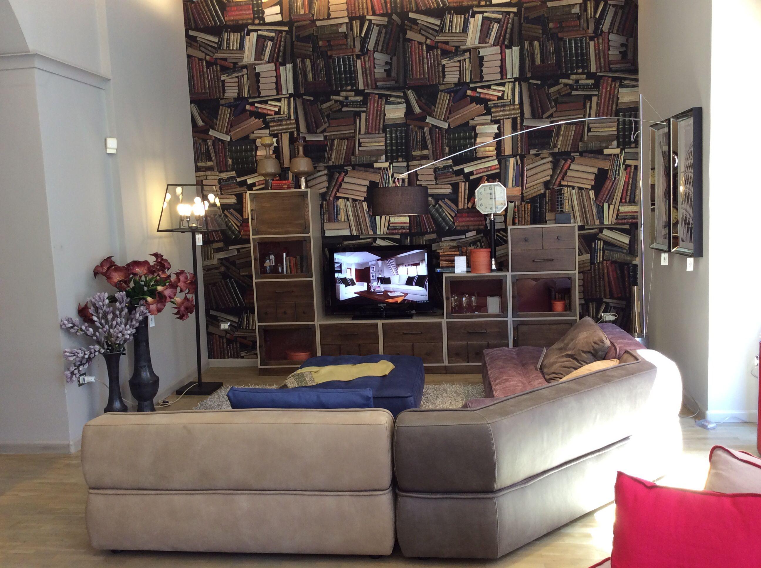 Libreria Divano ~ Libreria ferdinand divano mikado by tapinassi manzoni per