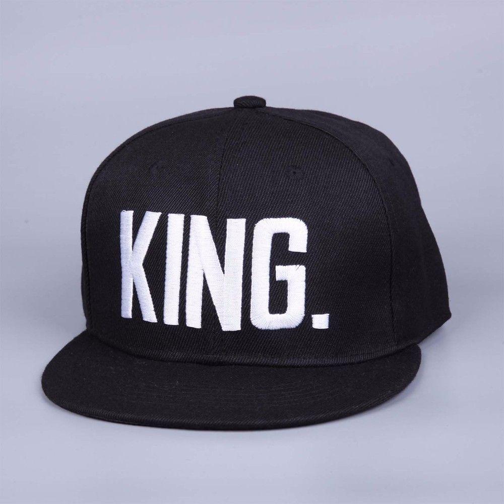 e9c7083fb87 Fashion KING QUEEN Hip Hop Baseball Caps Embroider Letter Couples Lovers Adjustable  Snapback Sun Hats for Men Women KH981562