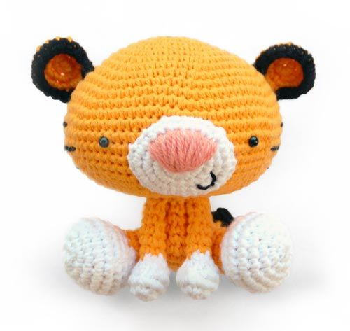 Nerdy Amigurumi Patterns : Roary the Tiger amigurumi pattern by A Morning Cup of Jo ...