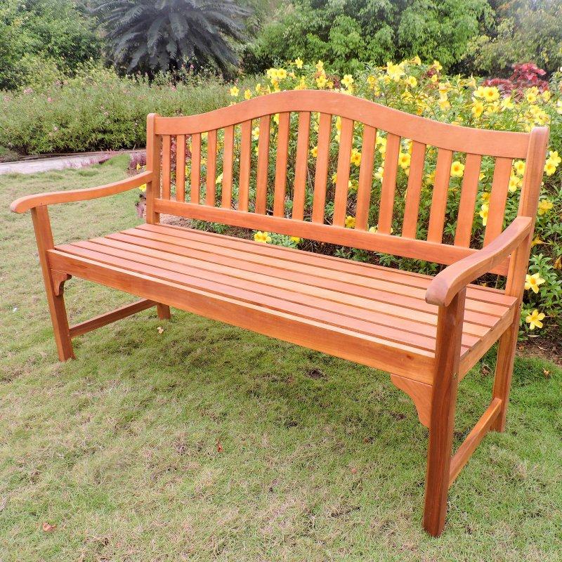 Fantastic Outdoor International Caravan Royal Fiji 5 Ft Garden Bench Dailytribune Chair Design For Home Dailytribuneorg