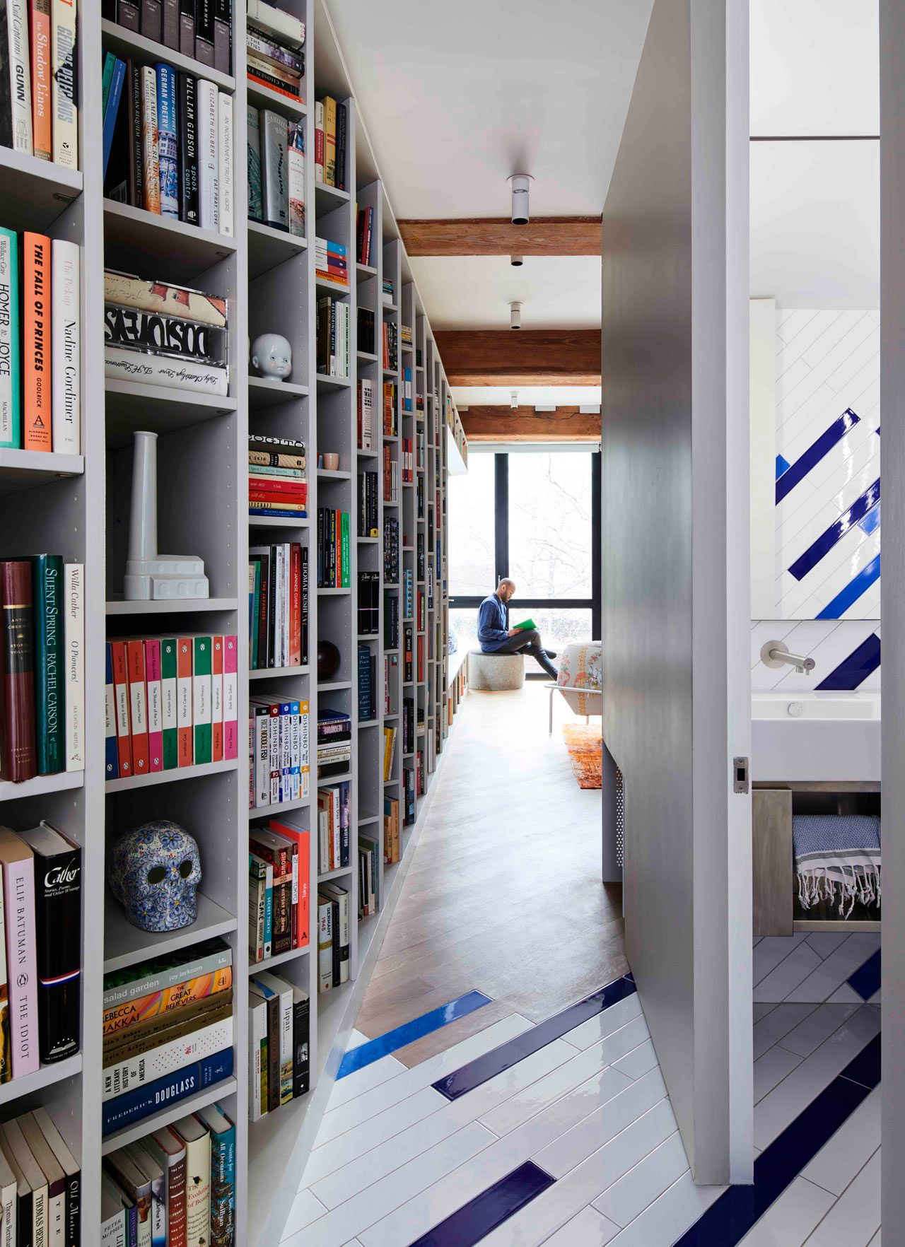 The Brooklyn Publisher's Loft Is Designed to House an Enormous Book Collection - Design Milk
