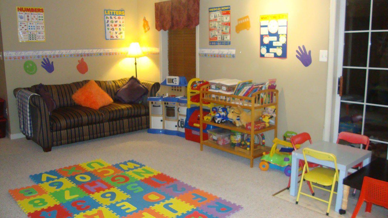 Home Daycare Setup Classroom Designs For Home Or Center - Home daycare design ideas