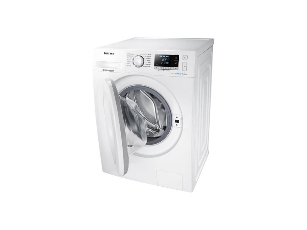 Samsung Ww90j5456mw Ecobubble 1400rpm 9kg Washing Machine