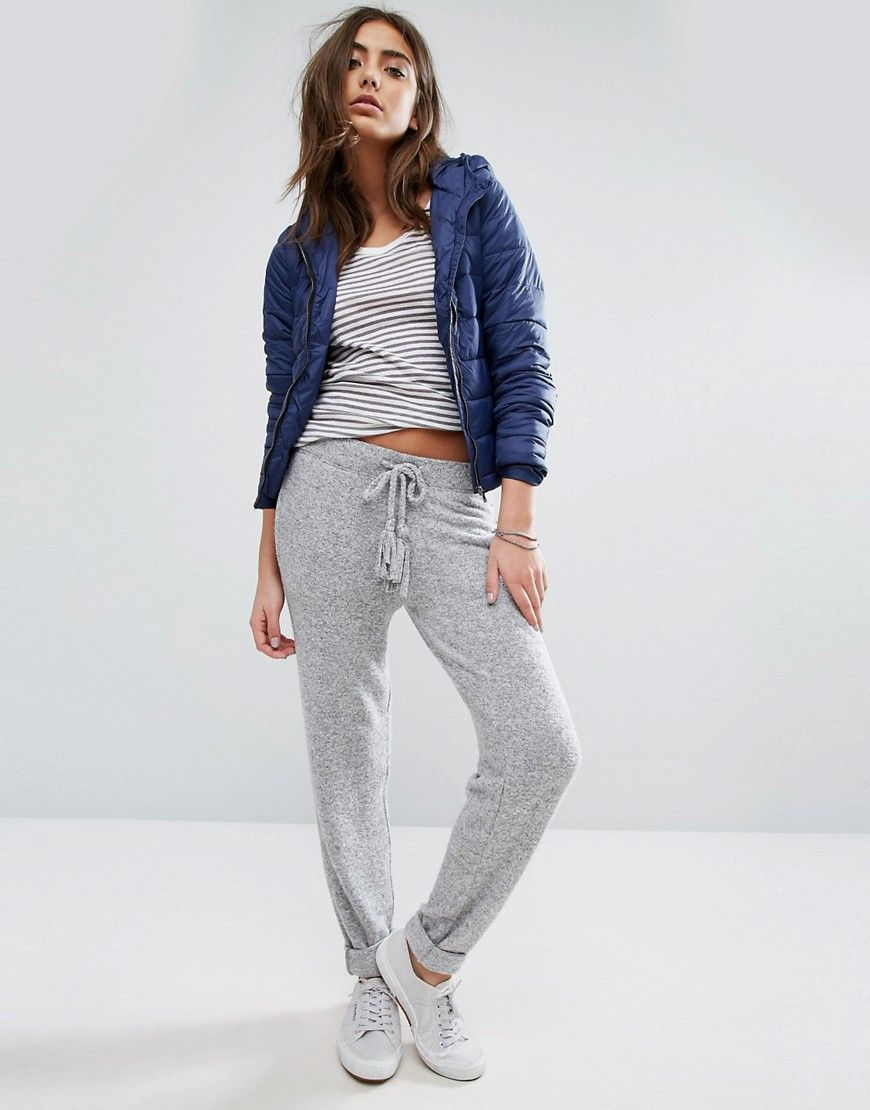 Buy Gray Hilfiger denim Joggers for woman at best price. Compare Trousers  prices from online stores like Asos - Wossel Global