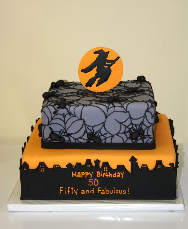 Halloween Birthday Cake by CakeSuite Westport CT Halloween