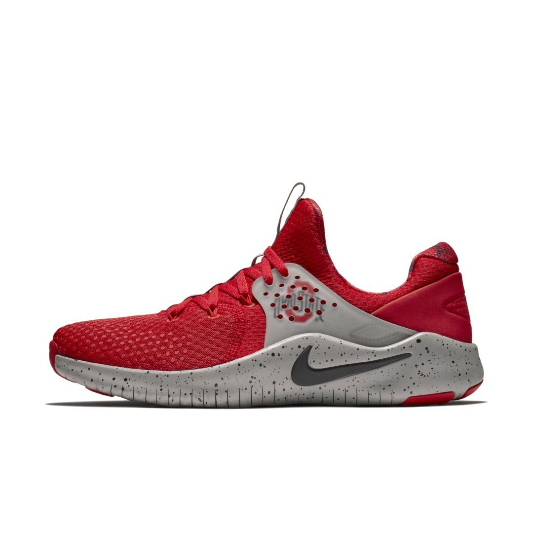 677c87e7c7fd9 Nike Free TR8 (Ohio State) Gym Gameday Shoe Size 11.5 (University Red)