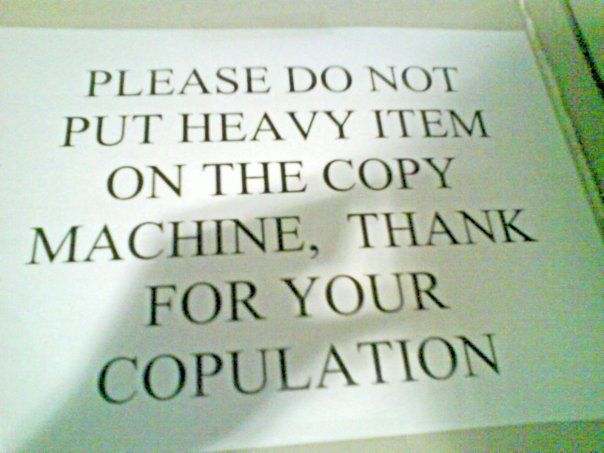 Funny Proofreading Mistakes Sign Reads Thank You For Your - 18 proofreading fails