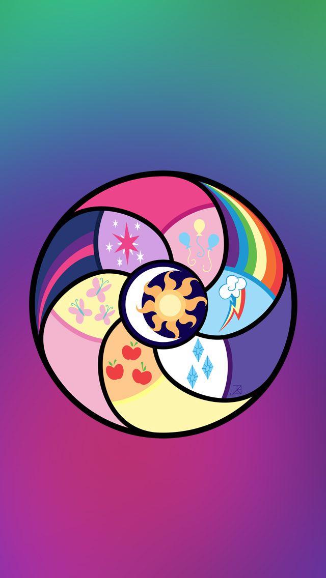 Mlp Elements Symbol My Little Pony Mlp Pony Mlp My