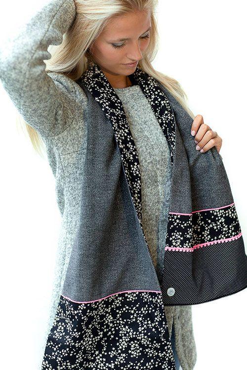 Afbeeldingsresultaat voor youpla echarpe   sewing - scarves   Sewing ... 1daaeda6627