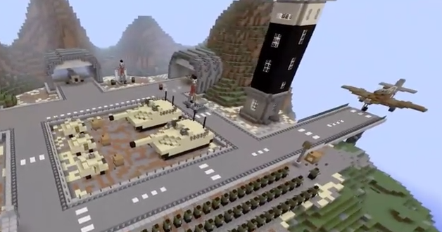 Minecraft amazing military base map (download) youtube.
