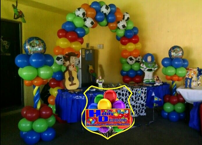 Henry Decoraciones In 2019 Toy Story Party Toy Story