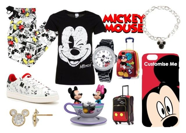 """Mickey Mouse Clubhouse"" by haschaklover ❤ liked on Polyvore featuring Disney and MOA Master of Arts"