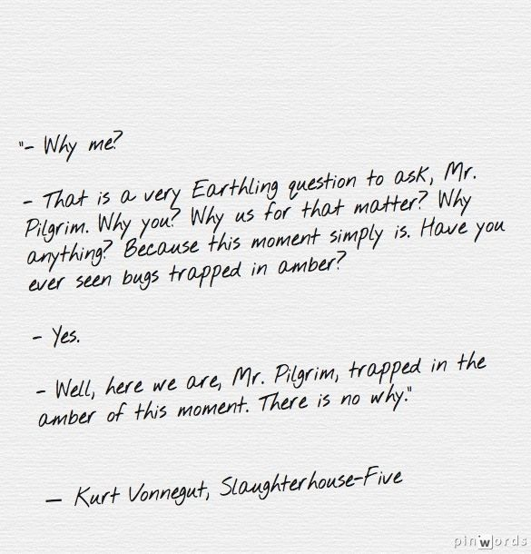 slaughterhouse five by kurt vonnegut essay Slaughterhouse-five by kurt vonnegut is a gripping tale filled with action and suspense the narrative is told by billy pilgrim, a german-american veteran of world war ii who survived being a prisoner of war.