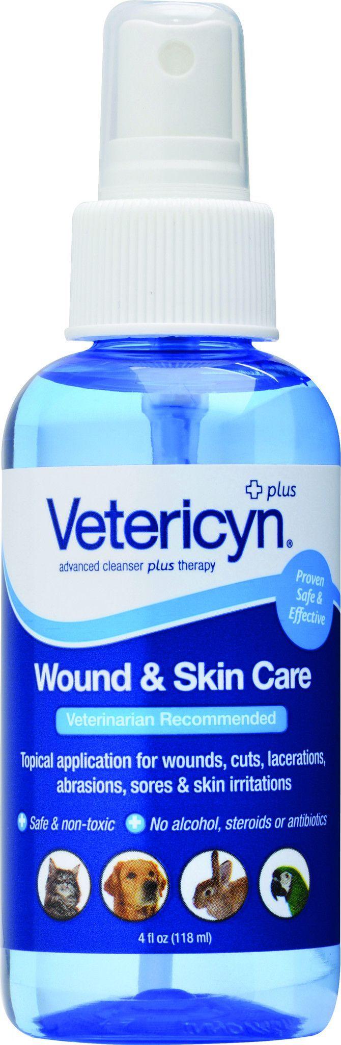 Vetericyn Plus Wound Skin Care Spray Dog Health Care Sore Skin Dog Health