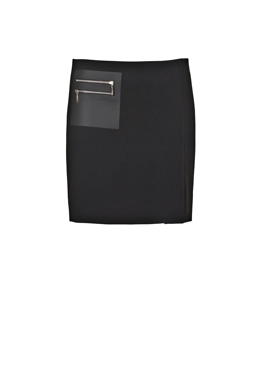 Sweden Fitted Skirt Noir Types Of Skirts