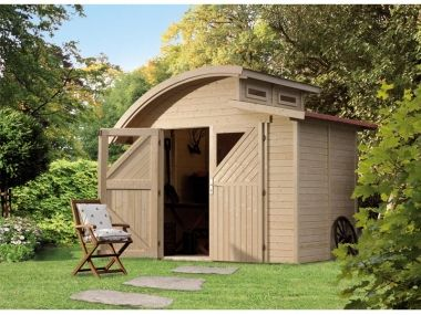 Abri De Jardin Vanilla Backyard Sheds Shed Outdoor Structures