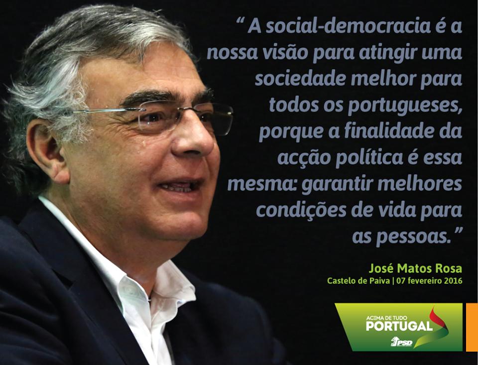 José Matos Rosa, Secretário-Geral do Partido Social Democrata na Inauguração da Sede do PSD de Castelo de Paiva. #PSD #acimadetudoportugal