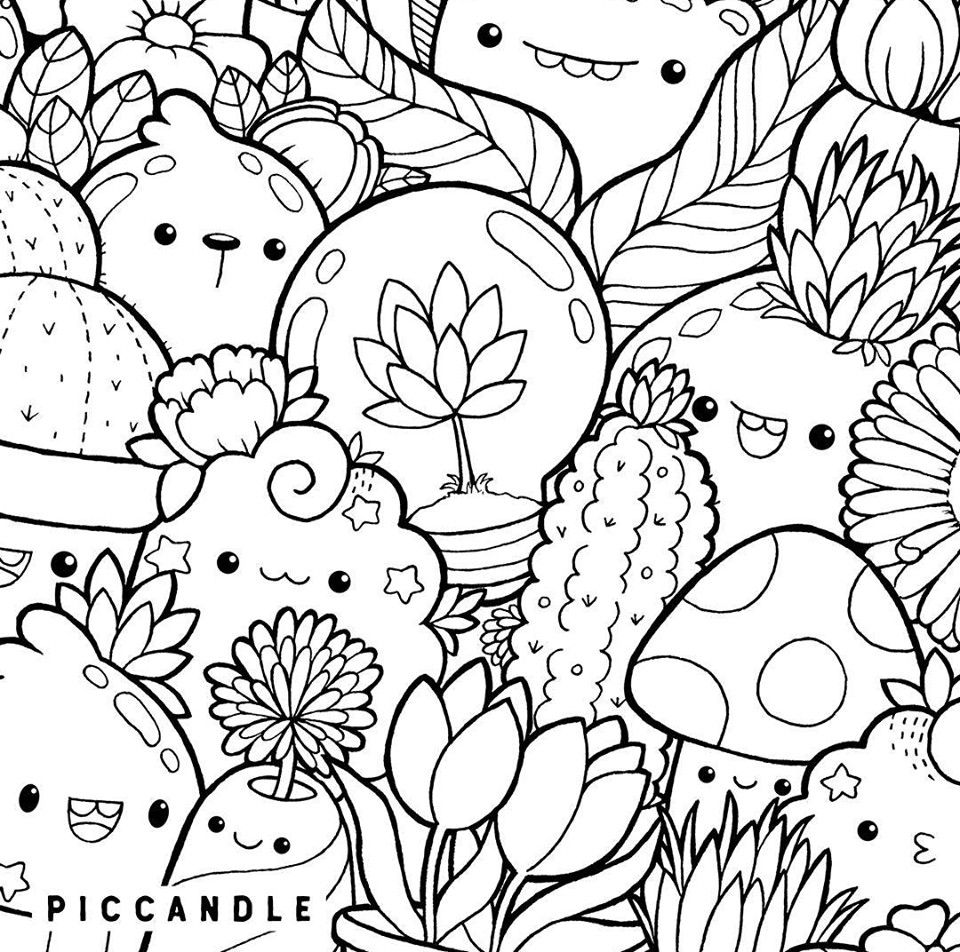 Coloring Pages Squishies