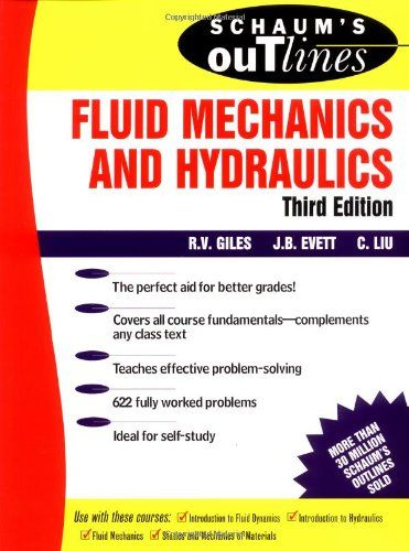 Schaum S Outline Of Fluid Mechanics And Hydraulics Schaum S Free Download By Array