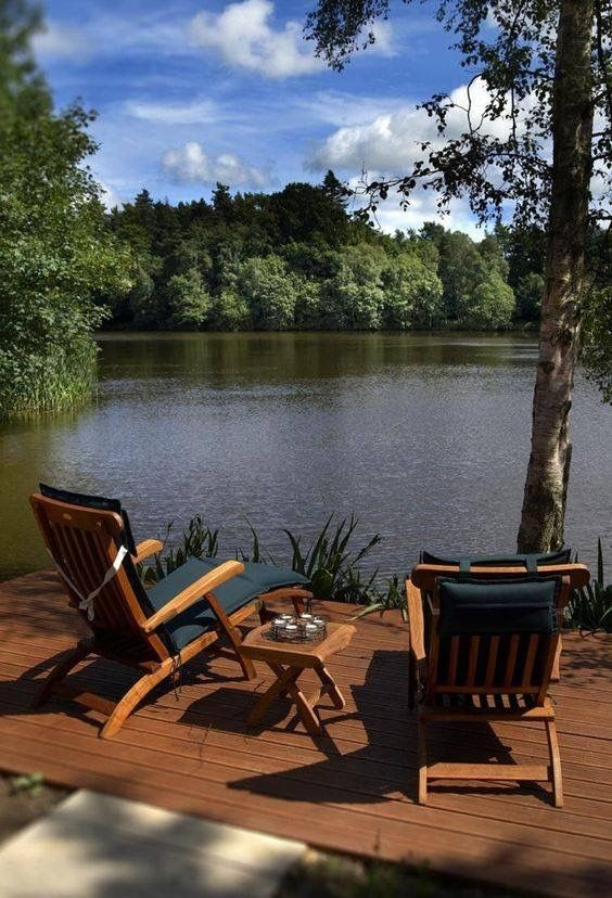 Lakeside Collection Patio Furniture: I Wish I Knew A Lake House To Rent....