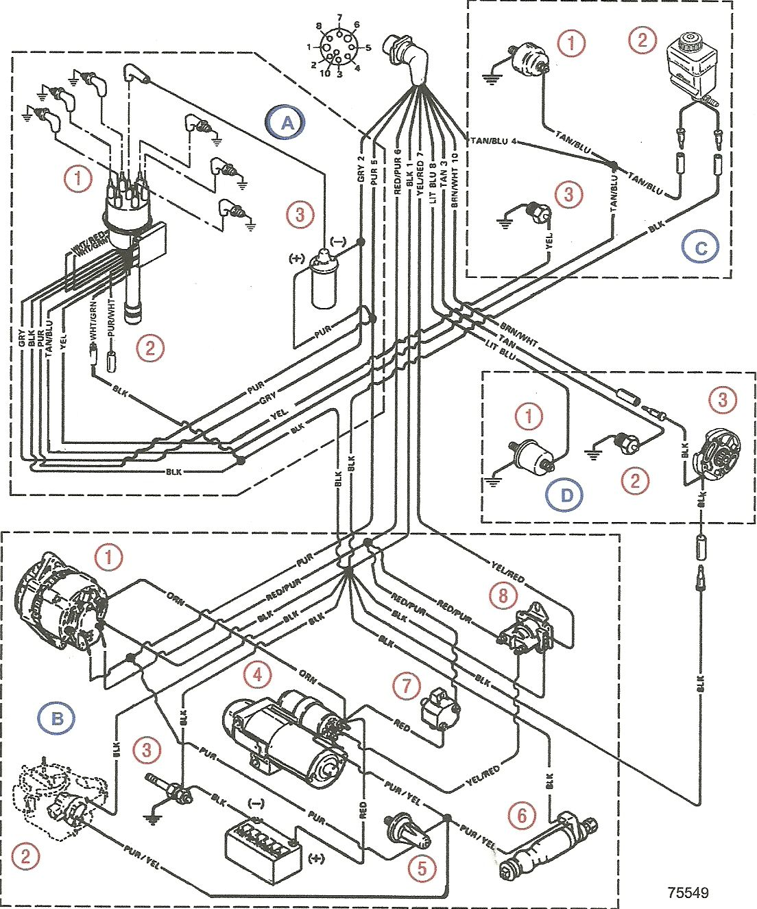 volvo penta 5 7 wiring diagram simple boat wiring diagram \u2022 free  1994 pontiac 5 7l diagram wiring schematic