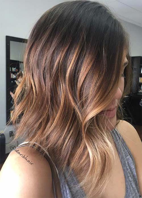 Couleurs Tendances 2017 : 50 magnifiques couleurs cheveux tendance 2017 coiffure pinterest couleur cheveux tendance ~ Nature-et-papiers.com Idées de Décoration