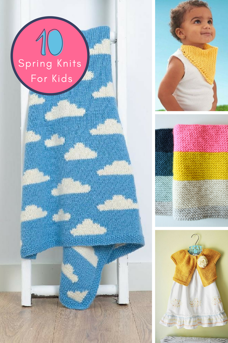 Spring Knits For Kids | Knitting for kids, Spring knits ...