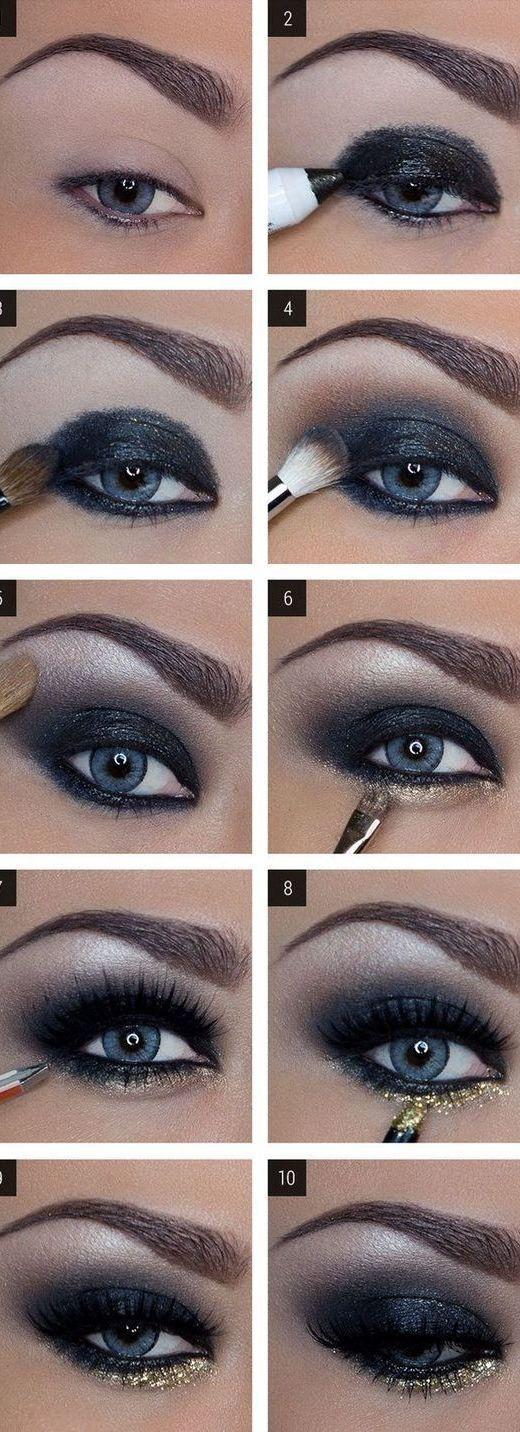 16 Easy StepbyStep Eyeshadow Tutorials for Beginners