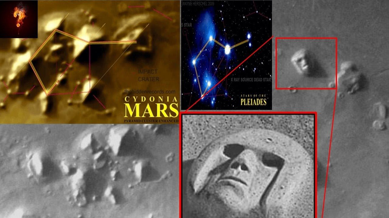 Alien Tomb Pyramid Complex Located On Mars Aliens And Ufos The Martian Pyramids