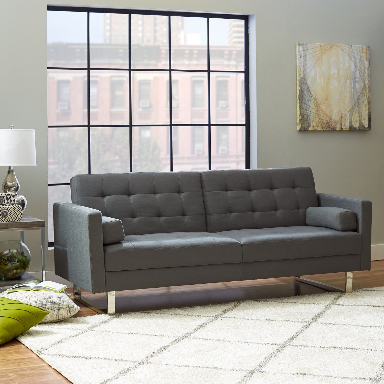 "Lysander 87"" Square Arm Sleeper Living room furniture"