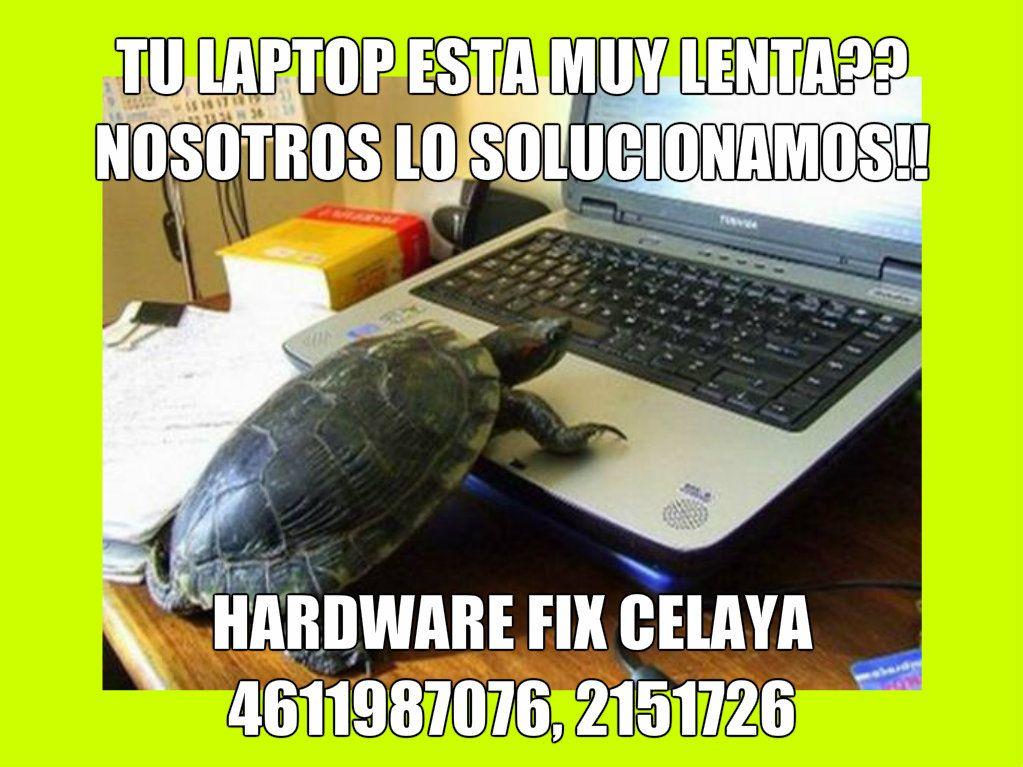 Quitar lo lento de una laptop