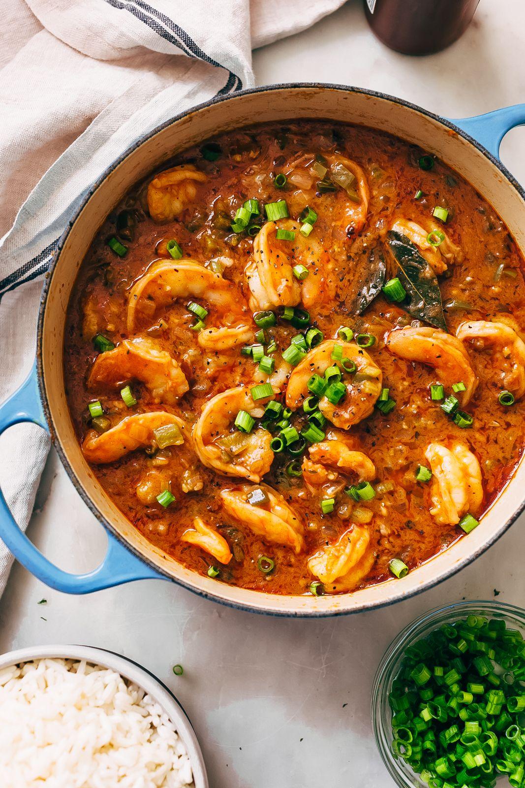 Cajun Shrimp Étouffée Recipe - Little Spice Jar