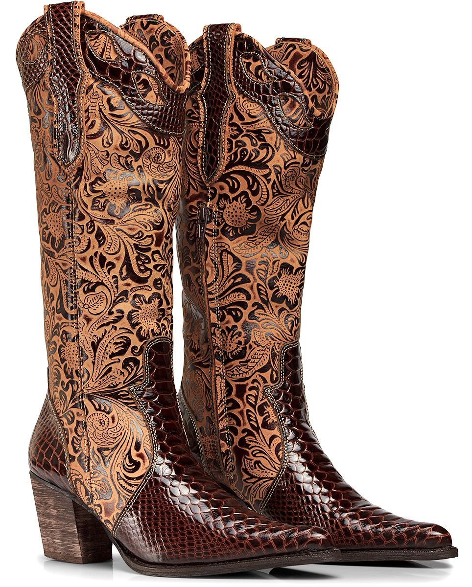 620a605d4 Bota Texana Anaconda Country Feminina Capelli Boots Ref:3104 - R$ 299,90 no  MercadoLivre