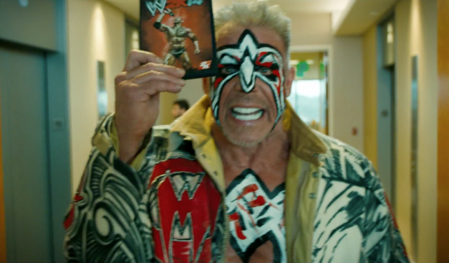 The Ultimate Warrior New Wwe 14 Commercial Photos Ultimate Warrior Wwe2k14 Wwe 2k14 Ultimate Warrior Warrior