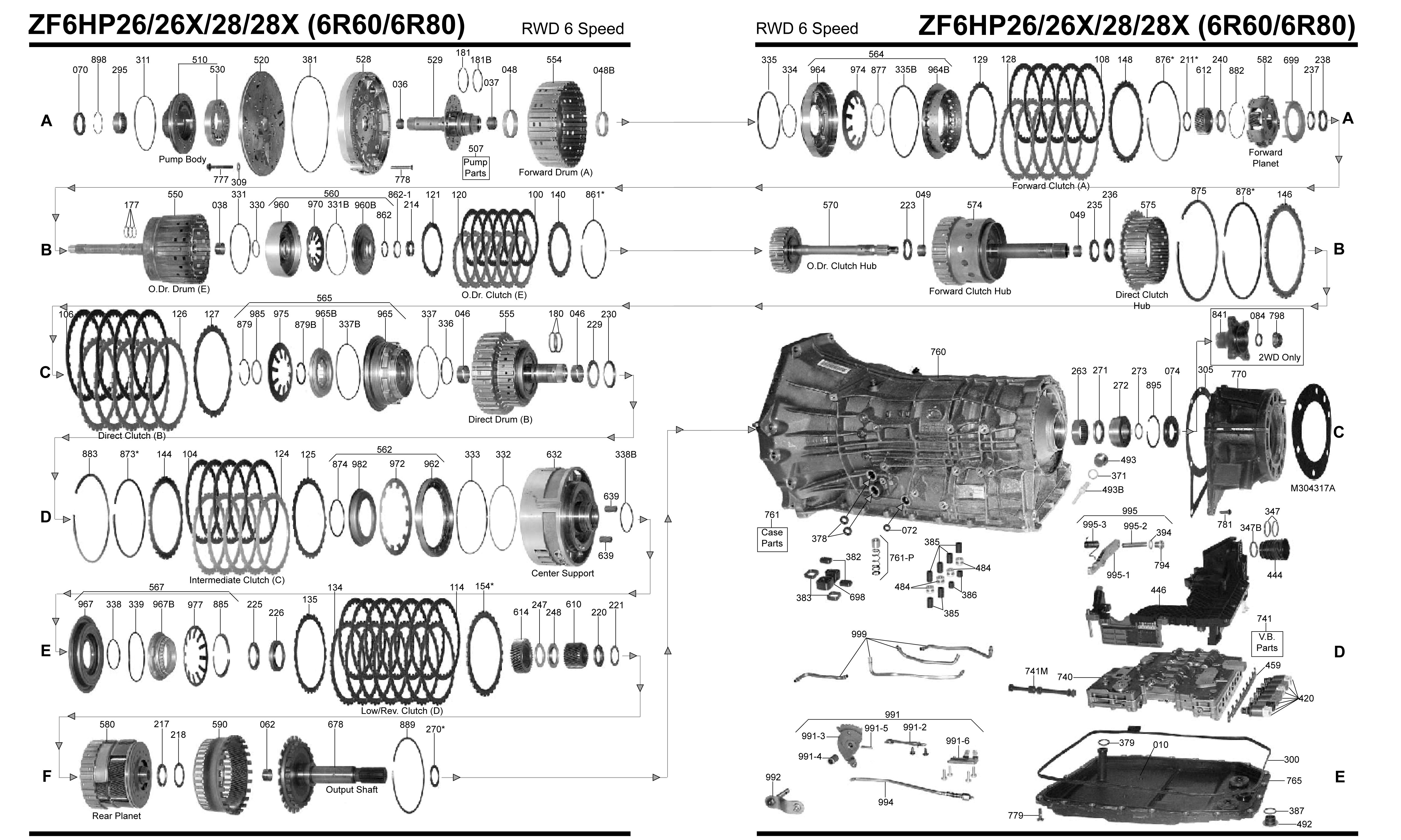 Exploded Diagram Of 4l604 Transmission Autos Post
