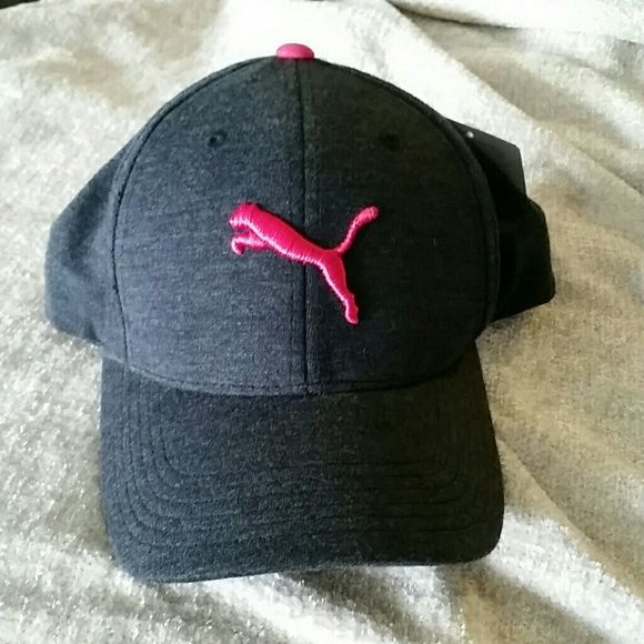 Womens puma snap back hat Womens Puma snap back hat. Grey and hot pink.  Never worn brand new. Puma Accessories Hats e2d4dfc3d7e