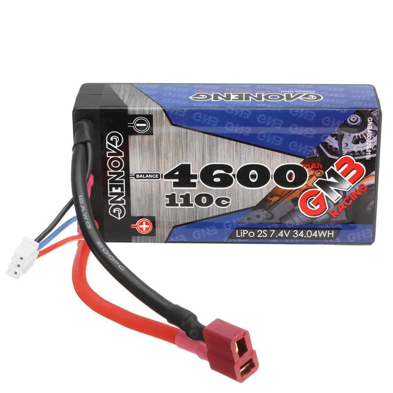 US44.29 Gaoneng GNB 7.4V 4600MAH 2S 110C Lipo battery T