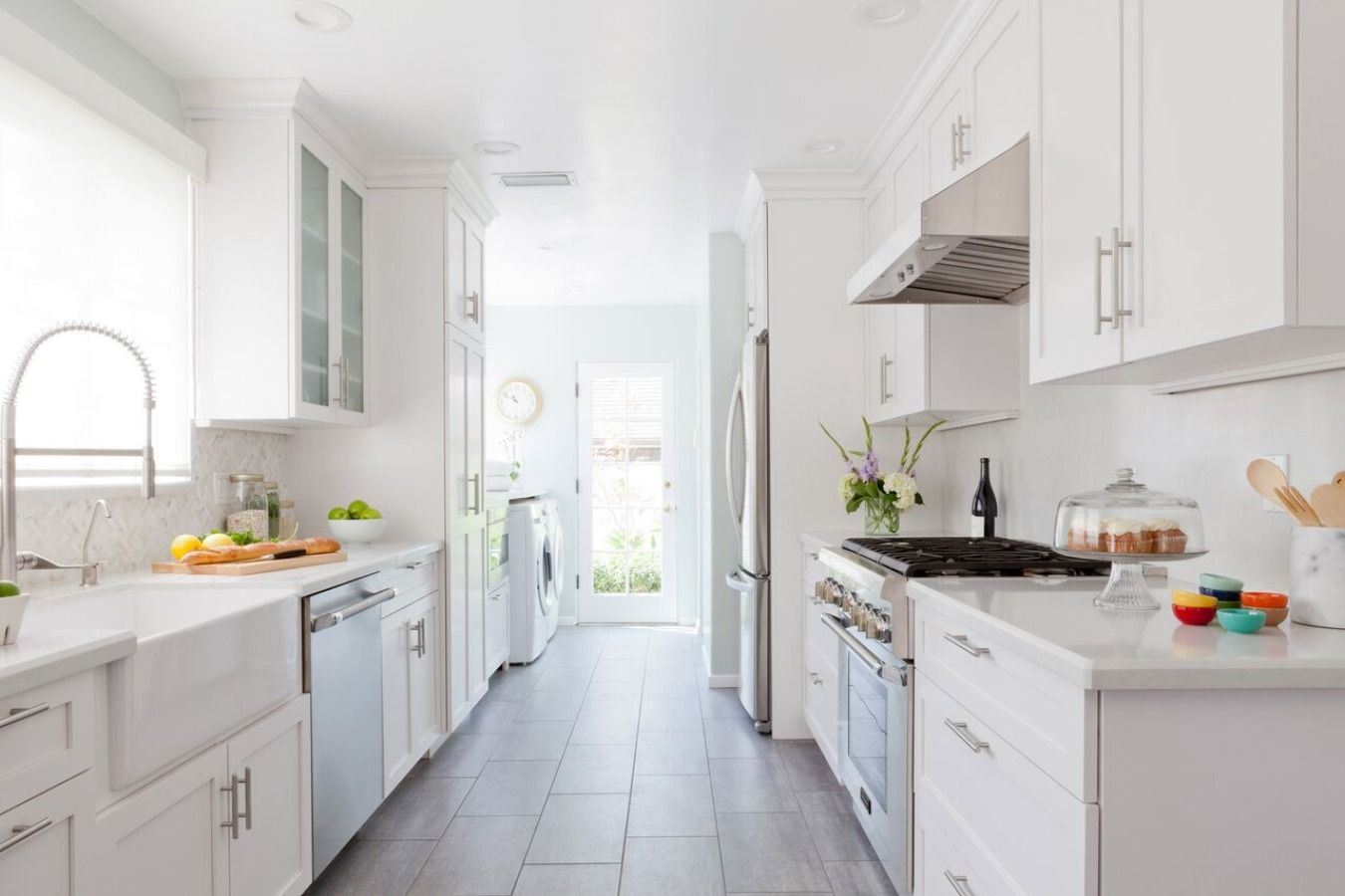 The Kitchens of Our Thanksgiving Dreams | Galley kitchens ...