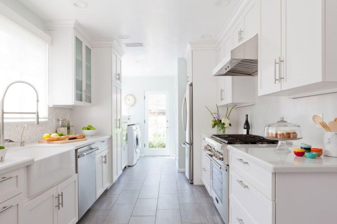 Galley Kitchen Remodels | Galley Style Kitchen Designs | Small Kitchen Layouts Galley