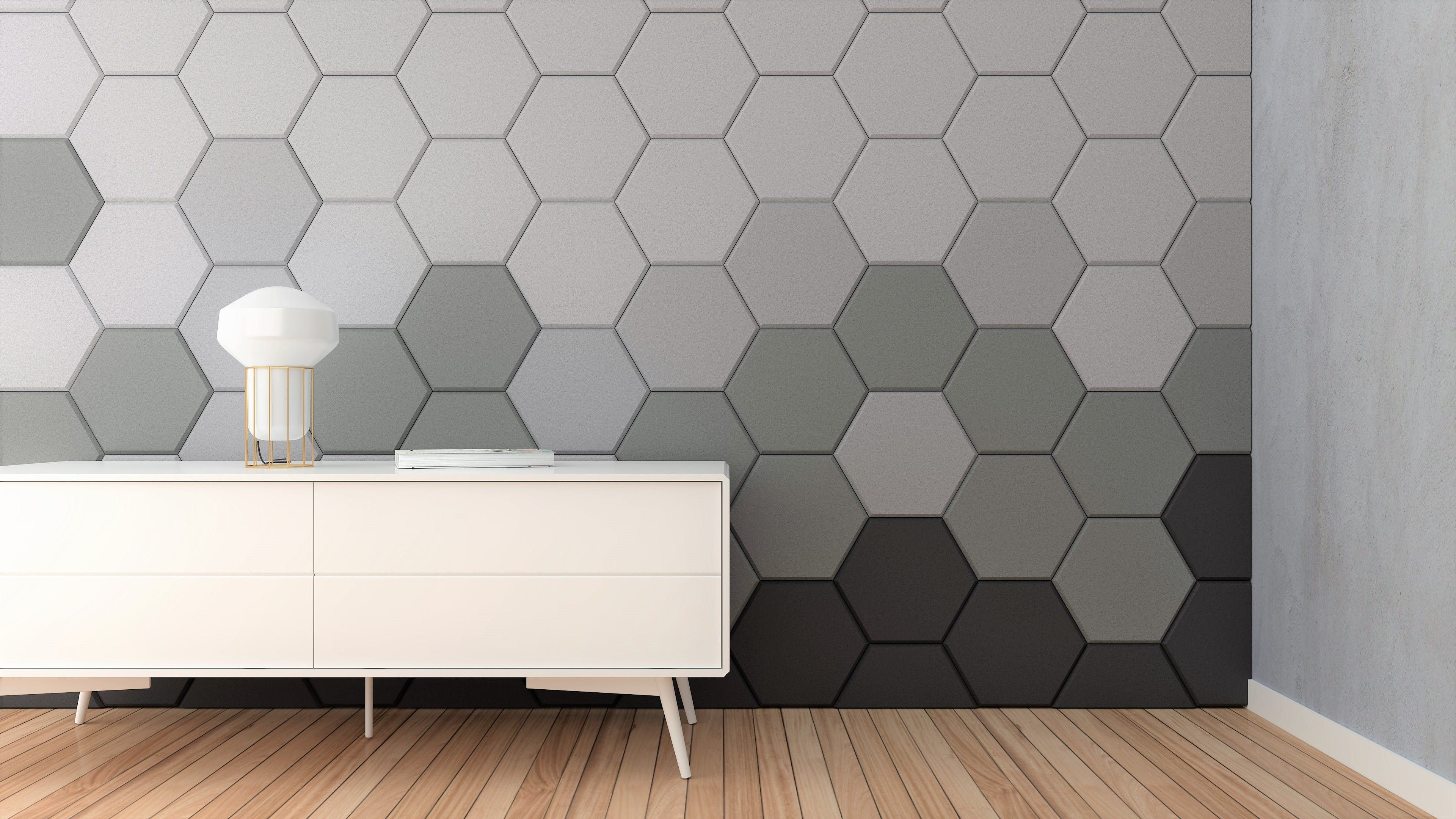 Image Result For Hexa Walls With Images Acoustic Panels Wall