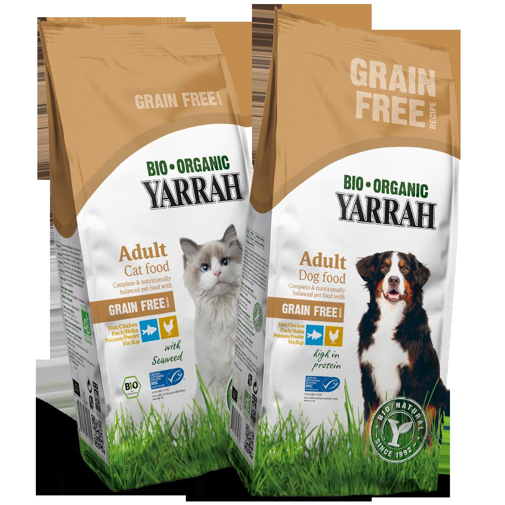 Organic dog & cat food